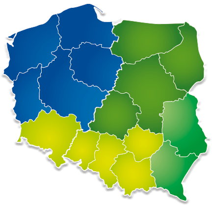 Mapa przedstawicieli