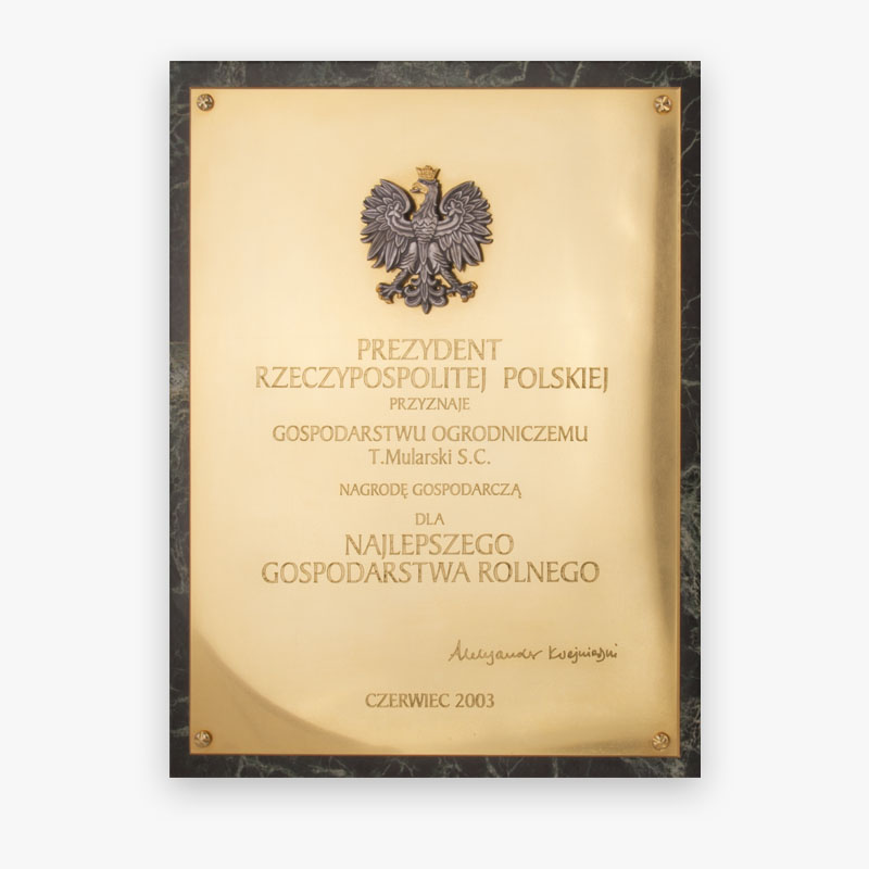 Economic Award of the President of the Republic of Poland