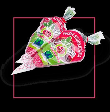 radish-cone