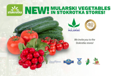 Mularski vegetables in Stokrotka stores!