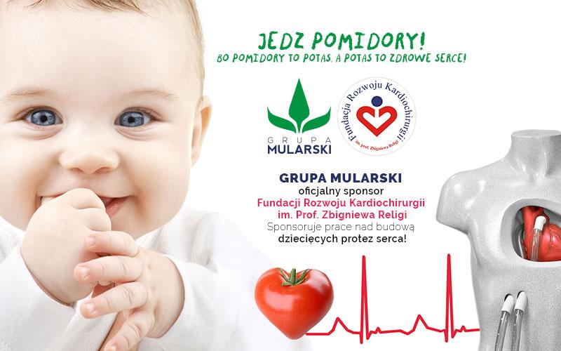 Grupa MULARSKI oficjalnym sponsorem Fundacji Rozwoju Kardiochirurgii im.Prof.Zbigniewa Religi
