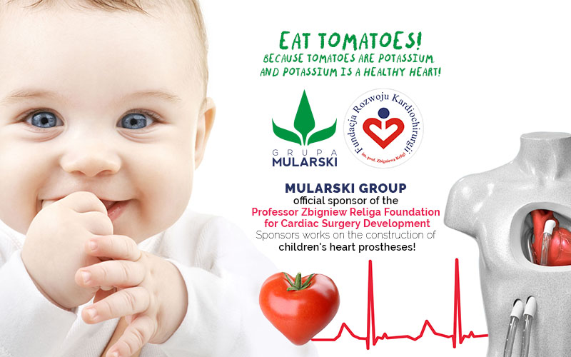 MULARSKI Group is the official sponsor of the Professor Zbigniew Religa Foundation!