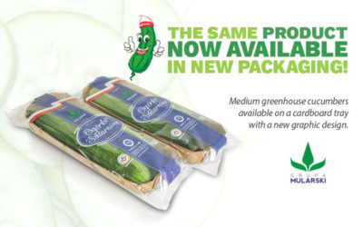 A new variant of cucumber packing available